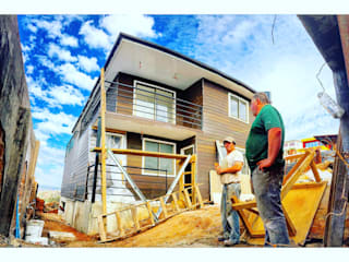 Casa H-N Casas estilo moderno: ideas, arquitectura e imágenes de Rodrigo Chávez Arquitecto Moderno