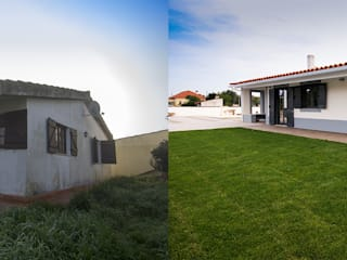 Transformação de moradia uni famíliar em Tomar por Origam