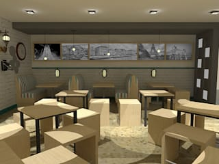 Bar- Restaurante Tinaco. de SCABA EQUIPAMIENTO Y ARQUITECTURA COMERCIAL , C.A. Industrial