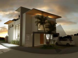 """CASA BIOGRAND """"1035"""" Casas modernas de KS Architektural Solution Moderno"""