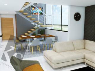 """CASA BIOGRAND """"1035"""" Comedores modernos de KS Architektural Solution Moderno"""