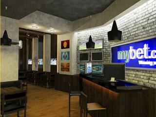 M2O Mimarlık Tasarım Ltd Sti – EFES SPORTS PUB, ALMATI / KAZAKİSTAN: modern tarz , Modern