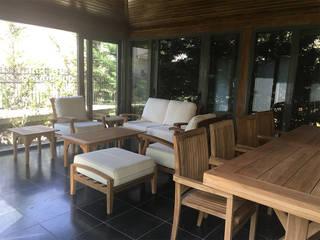 ROSE GARDEN KONAKLARI, ANKARA Modern Kış Bahçesi M2O Mimarlık Tasarım Ltd Sti Modern