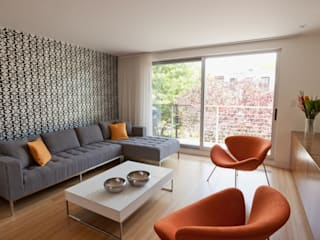 Sarah Jefferys Design Modern living room