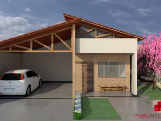 Antes e Depois - reforma residencial:   por Mais Arquitetura 34
