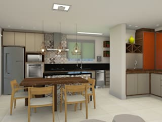 Modern kitchen by Espaco AU Modern
