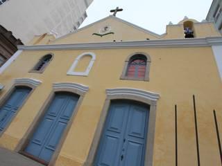 Projeto Revitalização e Conservação dos Espaços Museológicos do Museu da Cidade do Rio Grande Recyklare Projetos de Arquitetura , Restauro & Conservação Museus coloniais Tijolo Amarelo