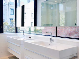 Park Slope Townhouse Modern Bathroom by Sarah Jefferys Design Modern