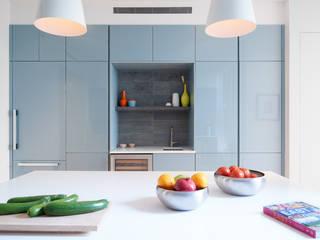Park Slope Townhouse Modern Kitchen by Sarah Jefferys Design Modern