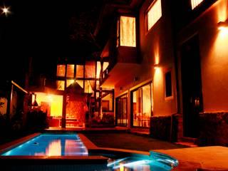 Rustic style houses by Barros e Zanolini Arquitetura e construção Rustic