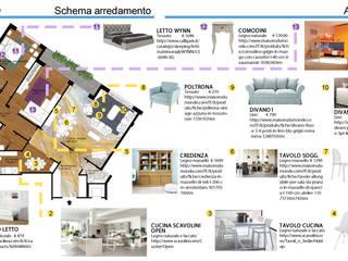 Pochi interventi, tante soluzioni:  in stile  di Paola Boati Architetto