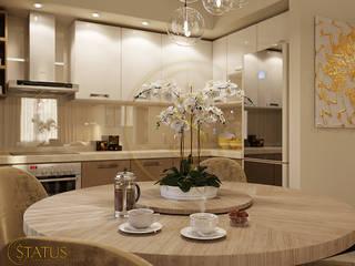 проект квартиры Кухня в стиле модерн от status Модерн