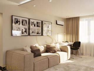 проект квартиры Гостиная в стиле модерн от status Модерн