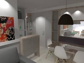 Projeto de Interiores CF - 2015 por FMV Arquitetura