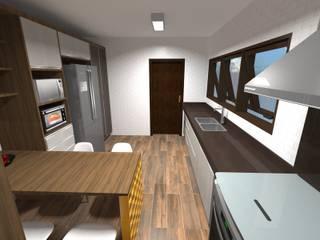 Reforma de Cozinha - 2016/2017 por FMV Arquitetura