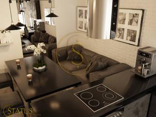 Студия лофт: Кухни в . Автор – status