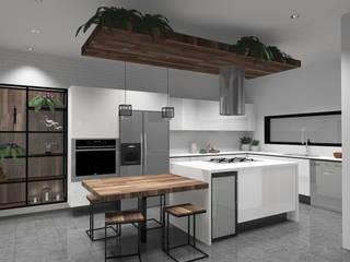 Cocinas de estilo moderno de GHT EcoArquitectos Moderno