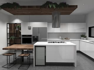 Kitchen by GHT EcoArquitectos, Modern