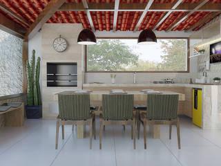 Garden by Flavia Peixoto Interiores