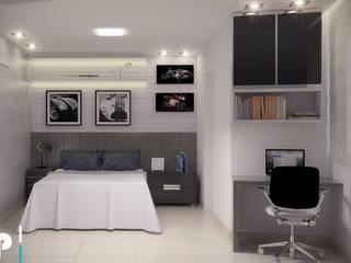 Bedroom by Flavia Peixoto Interiores