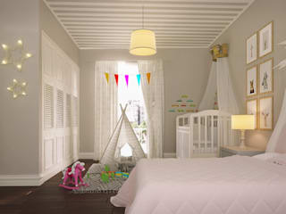 Nursery/kid's room by I'Mimarlik