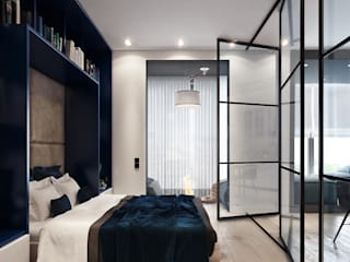 Bedroom by Entalcev Konstantin, Minimalist