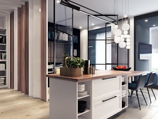 Kitchen by Entalcev Konstantin, Minimalist