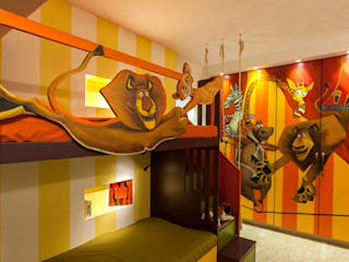 Choudhary Residence, Juhu, Mumbai Eclectic style bedroom by Inscape Designers Eclectic