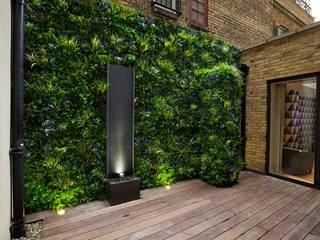 Artificial Greenery Wall For Indoor & Outdoor Landscape Sunwing Industries Ltd Balcon, Veranda & TerrassePlantes et fleurs Plastique Vert
