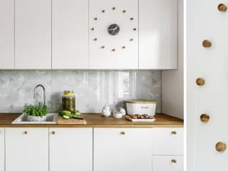 Cocinas de estilo  de Saje Architekci Joanna Morkowska-Saj