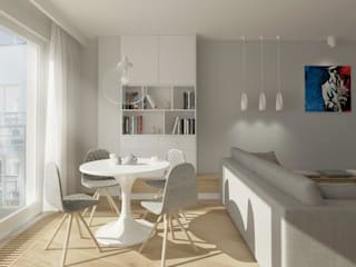 Phòng ăn theo Saje Architekci Joanna Morkowska-Saj, Hiện đại