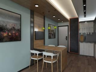 Meteor Mimarlık & Tasarım – RESIDENCE:  tarz Mutfak