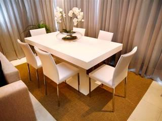 Passo Dareia | Porto Alegre Salas de jantar modernas por Angelica Hoffmann Arquitetura e Interiores Moderno