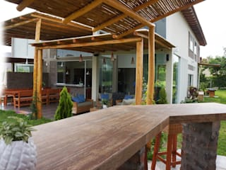Terrace by malu goni, Rustic