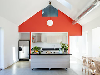ZeroEnergy Design Dapur Modern Red
