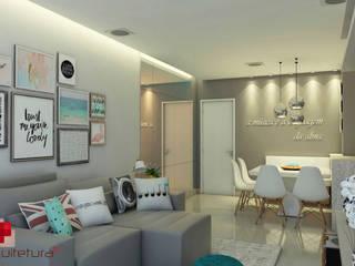 Moderne Wohnzimmer von Mais Arquitetura 34 Modern