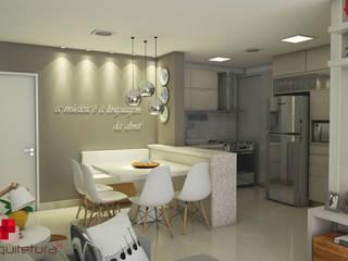 Moderne Esszimmer von Mais Arquitetura 34 Modern