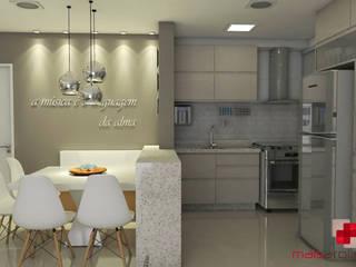 Projeto apartamento: Salas de jantar  por Mais Arquitetura 34