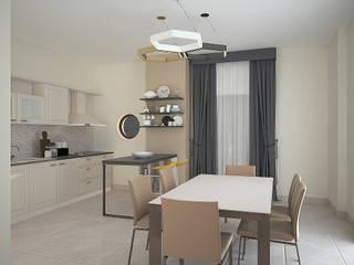 Interior design Sala da pranzo moderna di Teresa Lamberti Architetto Moderno