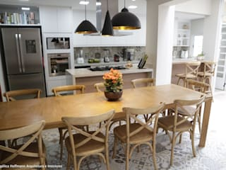 Cozinha Gourmet Vila Mariana Cozinhas modernas por Angelica Hoffmann Arquitetura e Interiores Moderno