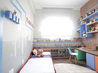 Dormitorios infantiles de estilo moderno de Angelica Hoffmann Arquitetura e Interiores Moderno