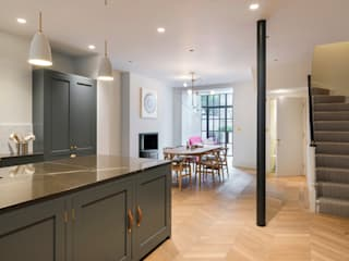 View from kitchen :  Kitchen by Gundry & Ducker Architecture