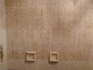 REMODELACION DE BAÑO: Baños de estilo moderno por ESTUDIO CRUZ