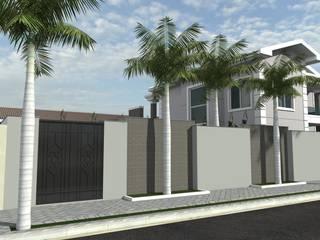 Projeto de um sobrado Residencial Unifamiliar.: Casas  por RVA Arquitetura,Clássico