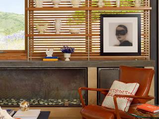 Caterpillar House:  Study/office by Feldman Architecture