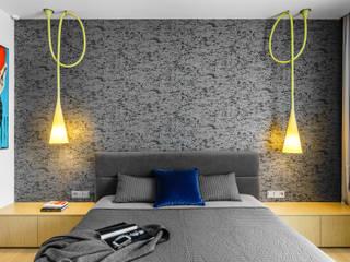 Mieszkanie prywatne 140m2 - Nowe Orłowo nr 3 - Gdynia : styl , w kategorii Sypialnia zaprojektowany przez Anna Maria Sokołowska Architektura Wnętrz ,Minimalistyczny