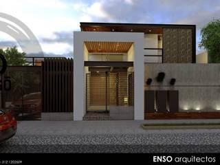 : Casas de estilo moderno por Enso Arquitectos