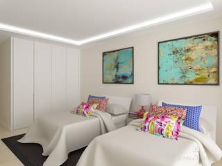 2014 ALCUZCUZ: Dormitorios de estilo  de horasDluz Studio