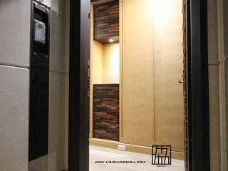 台北中正 蔡公館 亞洲風玄關、階梯與走廊 根據 協億室內設計有限公司 日式風、東方風