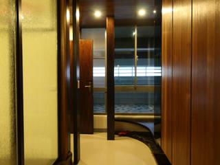 高雄楠梓 李公館 亞洲風玄關、階梯與走廊 根據 協億室內設計有限公司 日式風、東方風
